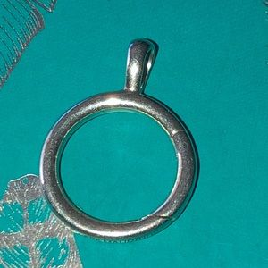 James Avery Circlet Sterling Charm Holder